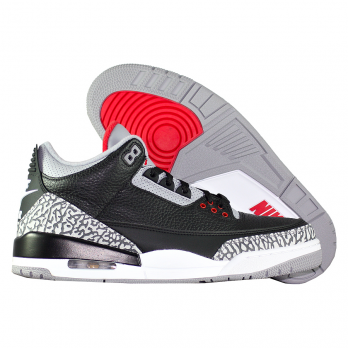 """Баскетбольные кроссовки Air Jordan 3 Retro OG """"Black Cement"""""""