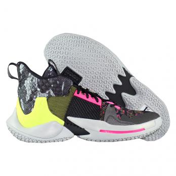 """Баскетбольные кроссовки Air Jordan Why Not Zer0.2 """"I Don't Care"""""""