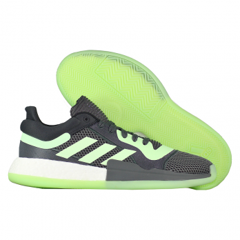 """Баскетбольные кроссовки Adidas Marquee Boost Low """"Glow Green"""""""