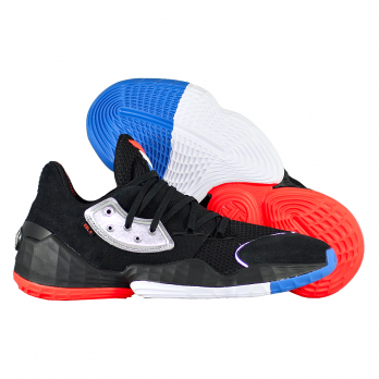 """Баскетбольные кроссовки Adidas Harden Vol. 4 """"Barbershop"""""""