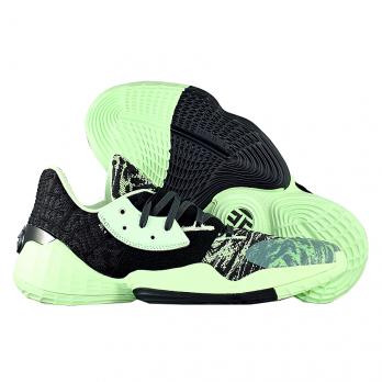 """Баскетбольные кроссовки Adidas Harden Vol. 4 """"Green Black"""""""