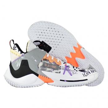 """Баскетбольные кроссовки Air Jordan Why Not Zer0.2 SE """"Orange Pulse"""""""